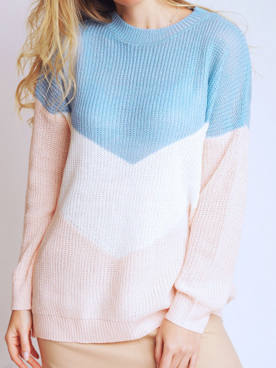 Sweater Heart Blue