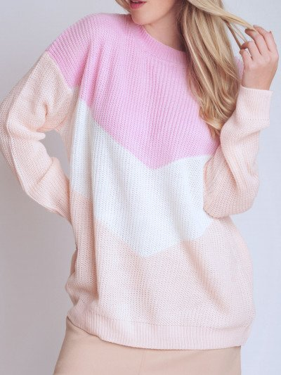 Sweater Heart Pink
