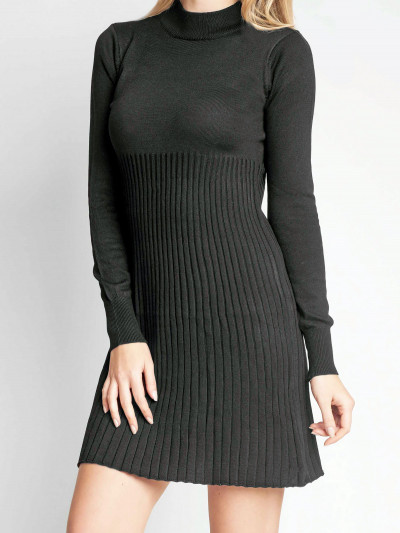 Sweater/Vestido Blizz Negro